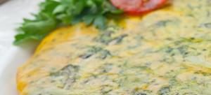 Frittata con broccoli - Omelette with broccoli