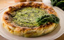 Torta salata con ricotta e spinaci