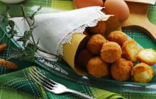 Crocchette al taleggio e polenta