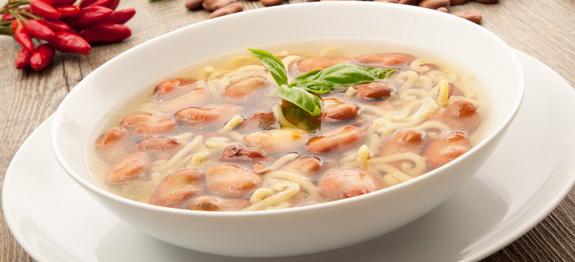minestra di pasta e fave