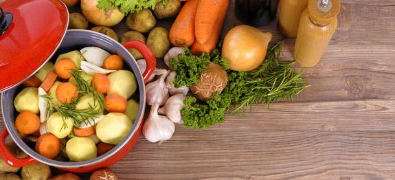 Come cucinare verdure al vapore