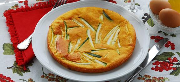 Scarpaccia salata di zucchine toscana