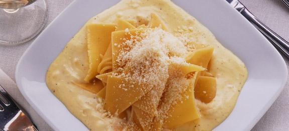 Pasta al mascarpone