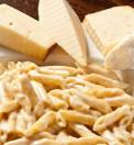 pasta, penne ai quattro formaggi