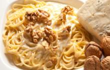 Spaghetti gorgonzola e noci