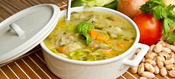 Come cucinare il minestrone surgelato