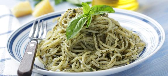 Spaghetti al pesto di menta