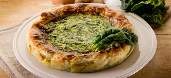 Torta salata ricotta e spinaci
