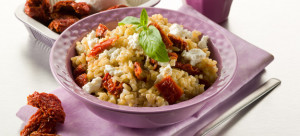 riso con ricotta e pomodori secchi
