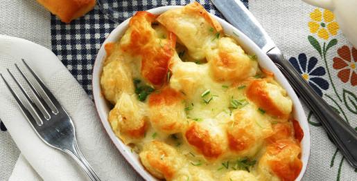Gnocchetti al formaggio ed erba cipollina