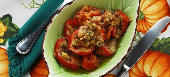 Pomodori all'aglio