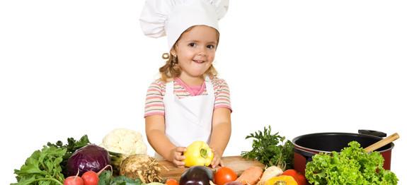 Come cucinare verdure ai bambini