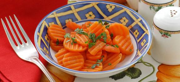 Carote all'aglio