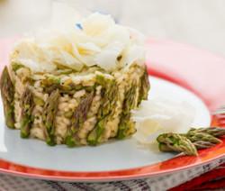 risotto asparagi e raspadura