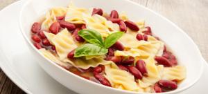 minestra di pasta e fagioli rossi