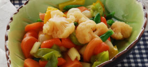 Come cucinare verdure al microonde
