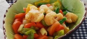 Come cucinare verdure in agrodolce