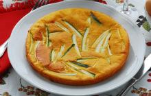 Scarpaccia salata di zucchine
