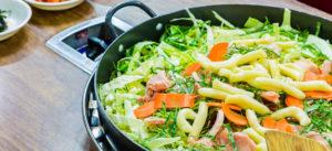 Come cucinare verdure con wok