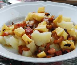 Padellata di patate e mele Contorni