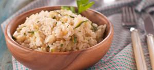 risotto con zucchine e limone