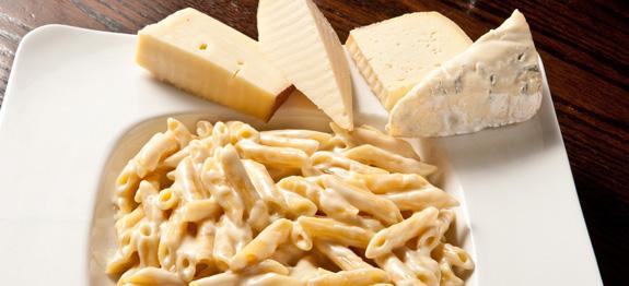 Penne ai quattro formaggi