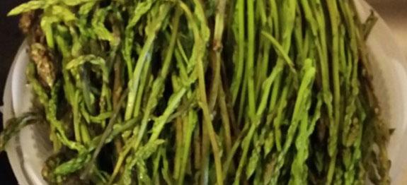 Come cucinare asparagi selvatici